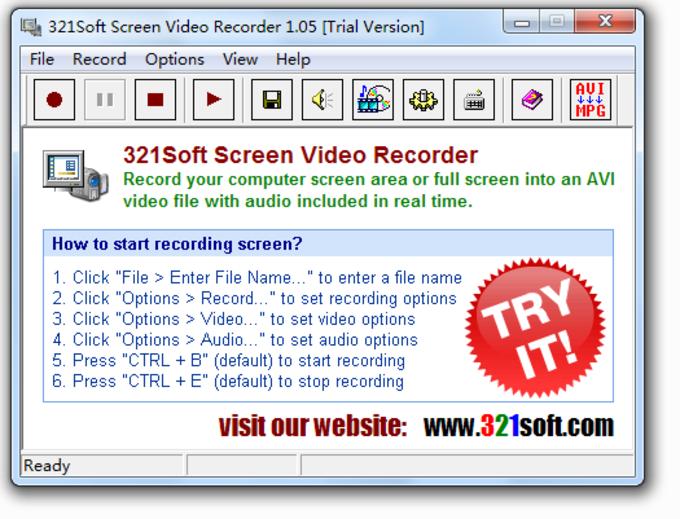 321Soft Screen Video Recorder