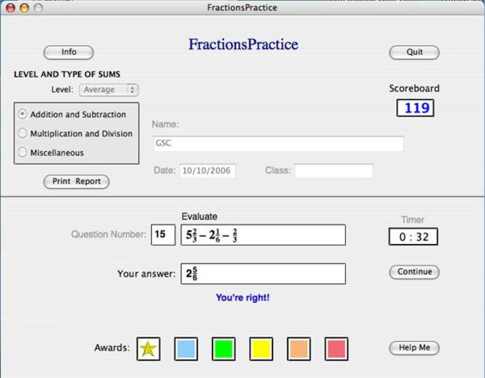 FractionsPractice