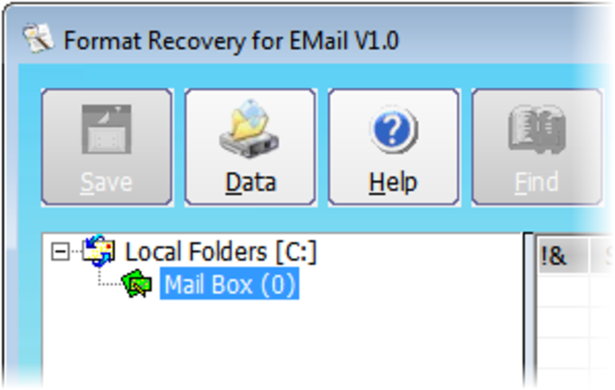 Format Recovery for EMail