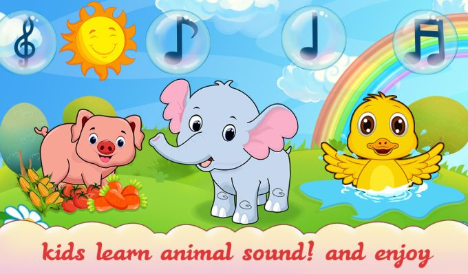 Animal Sound For Toddler Kids