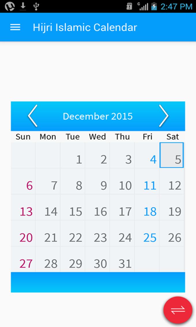 Hijri Calendar:Screen Widgets