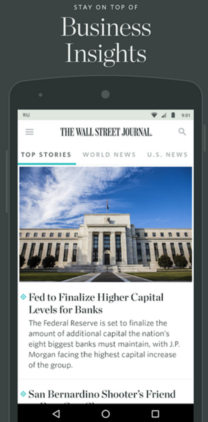 The Wall Street Journal: News
