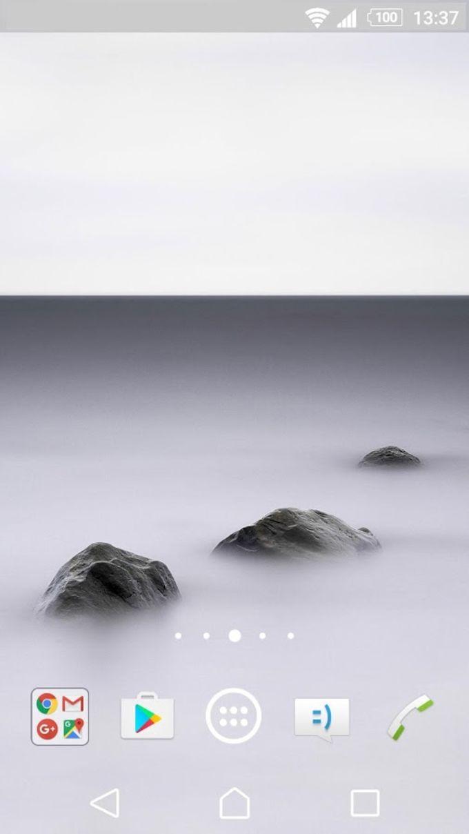 XPERIA™ Fog Theme