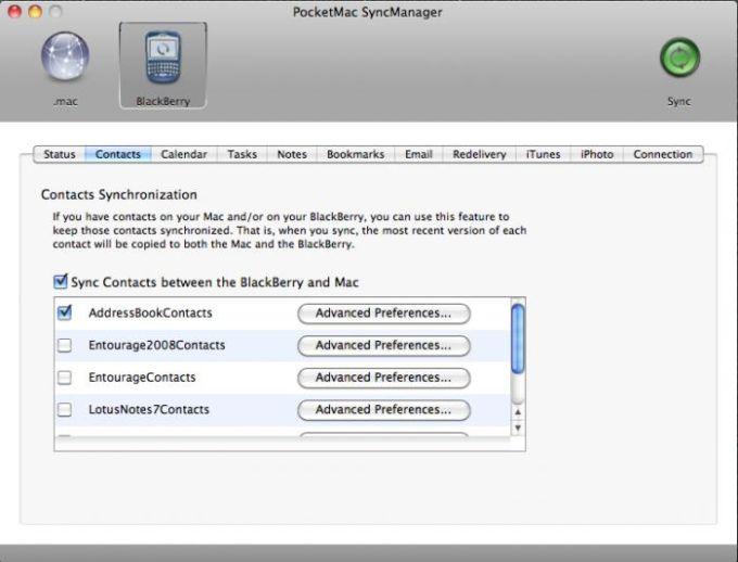 PocketMac Pour BlackBerry