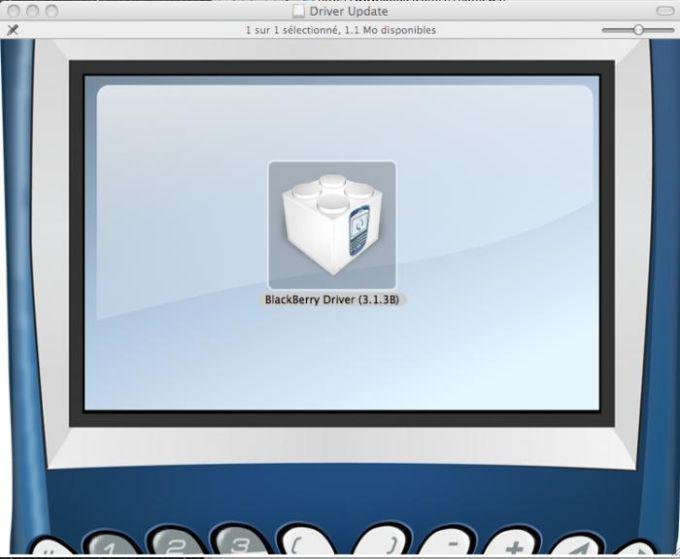 Pilotes de PocketMac pour BlackBerry