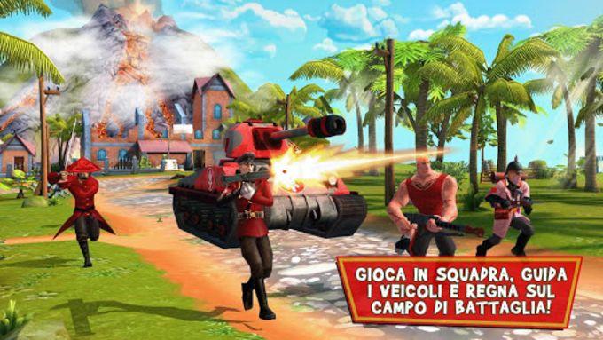 Blitz Brigade - FPS online n.1