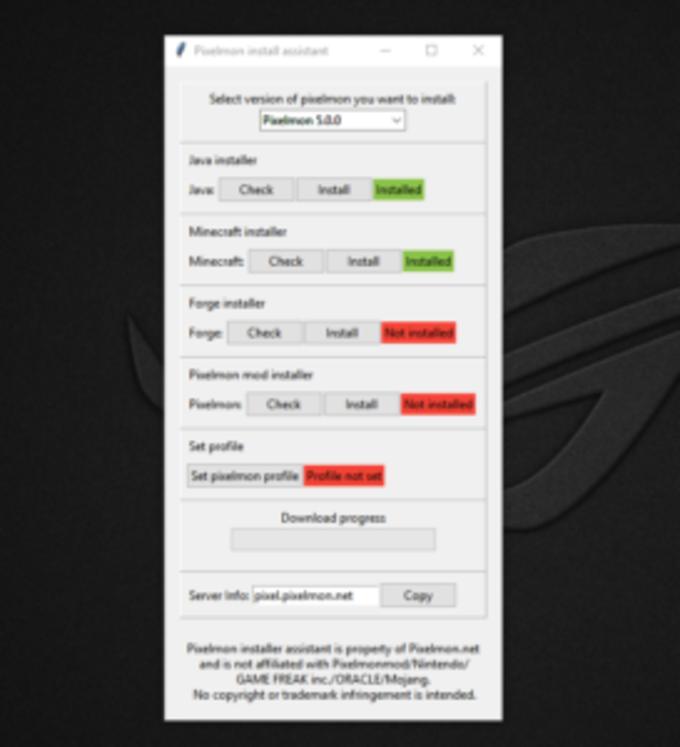 Pixelmon Install Assistant