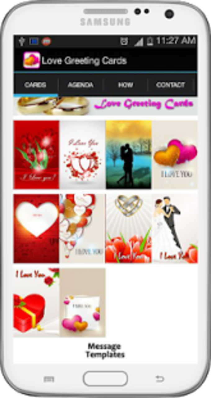 Romantic Love Greeting Cards