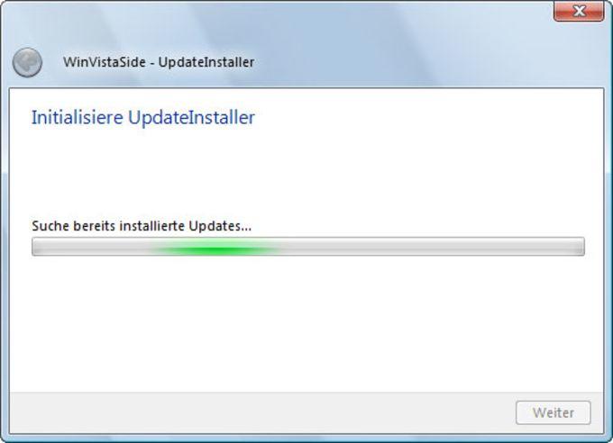 WinVistaSide UpdateInstaller para Windows 7