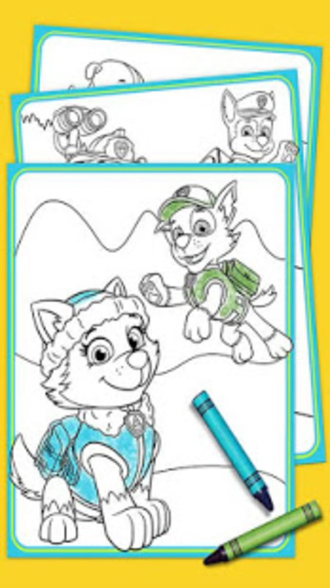 Paw Puppy Patrol Coloring Book