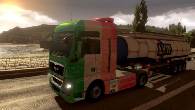 Euro Truck Simulator 2 - Irish Paint Jobs Pack