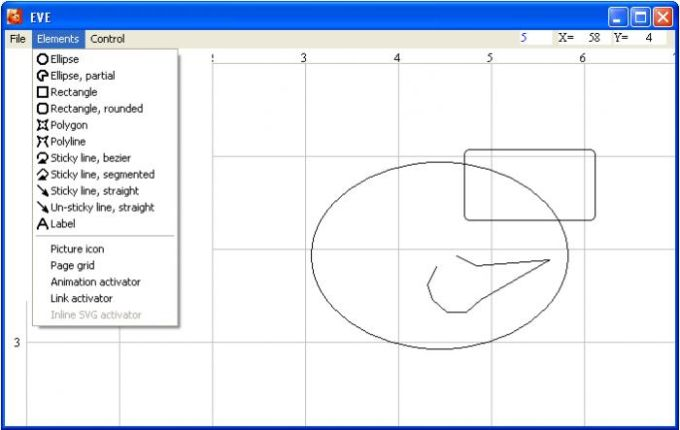 EVE - Embedded Vector Editor