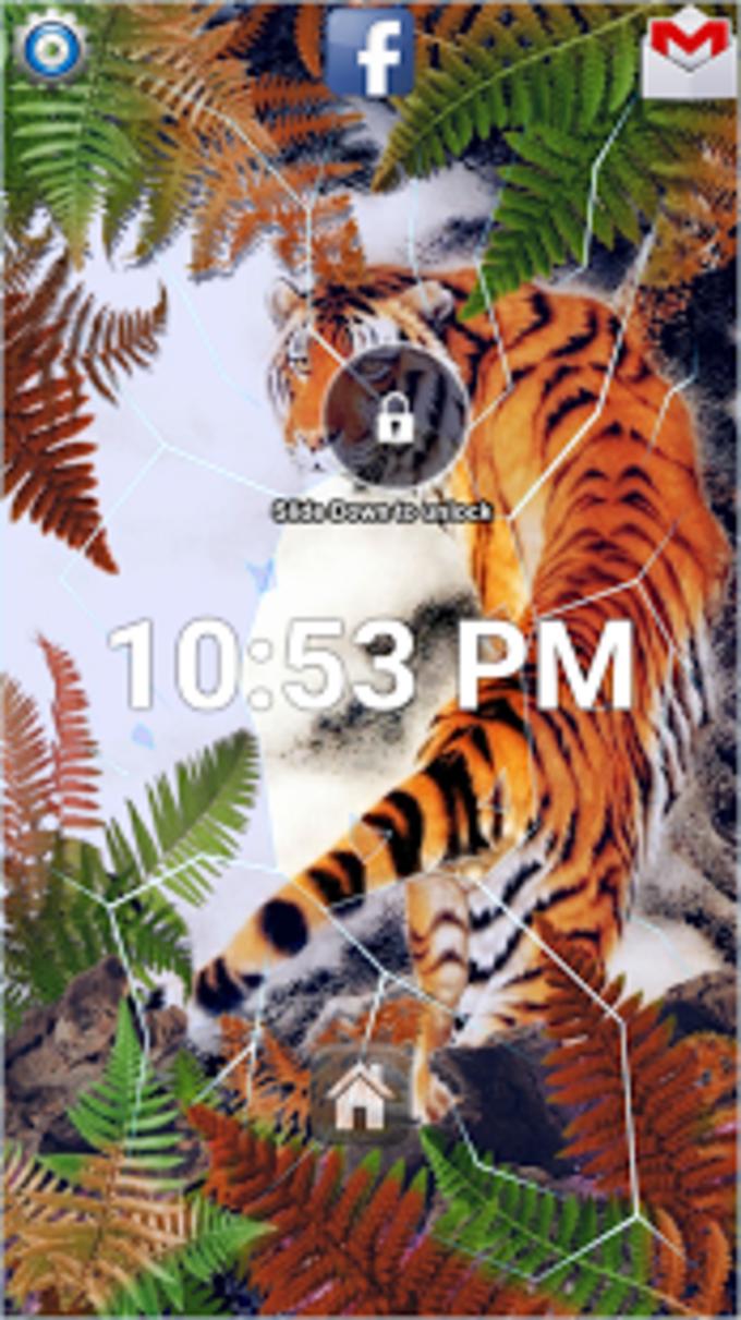 Beautiful Tiger Lock Screen
