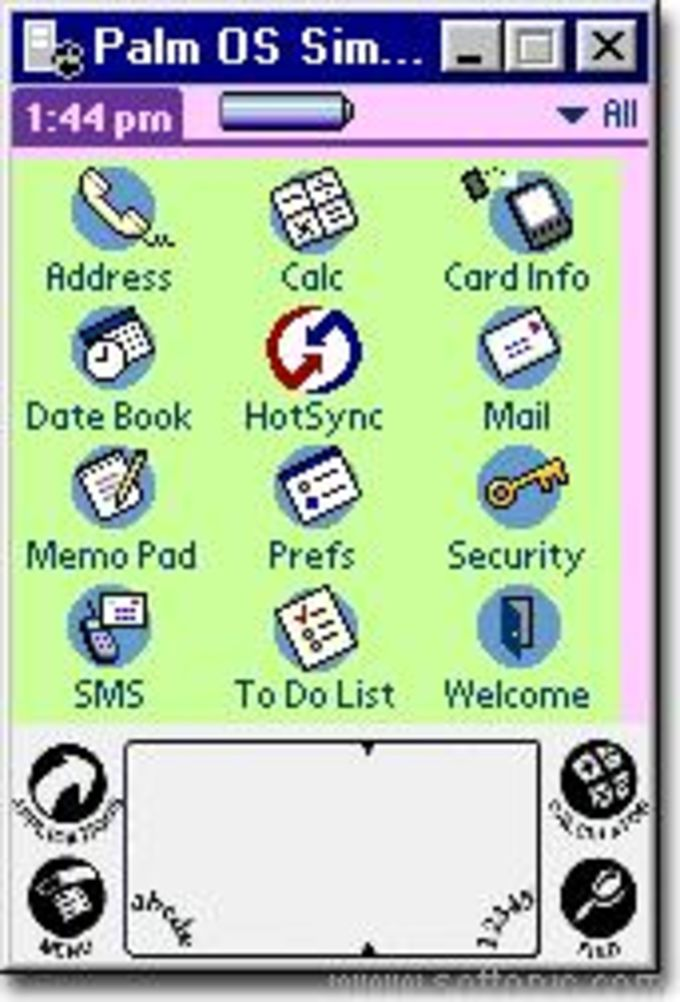 Palm OS 5 Emulator