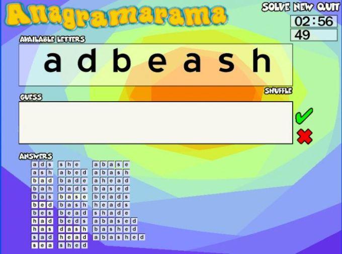 Anagramarama
