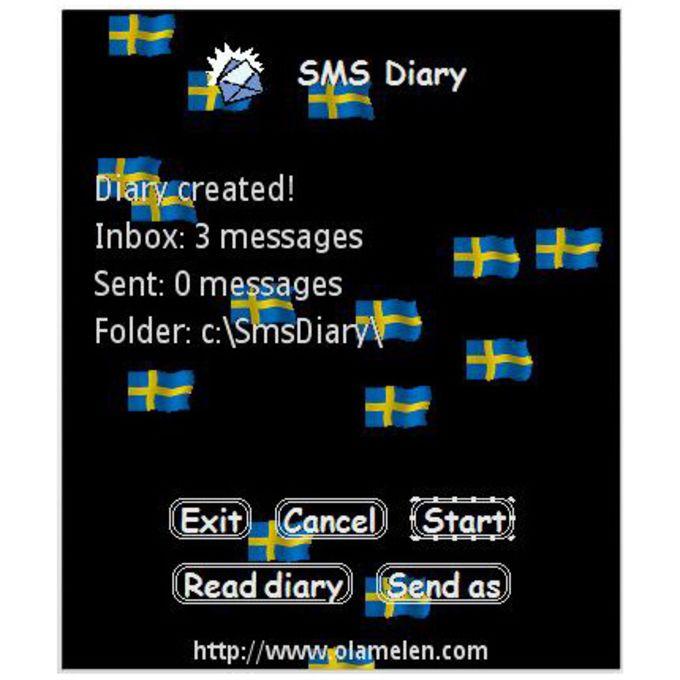 SMS Diary