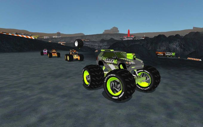 Monster Minis Extreme Off-Road Demo