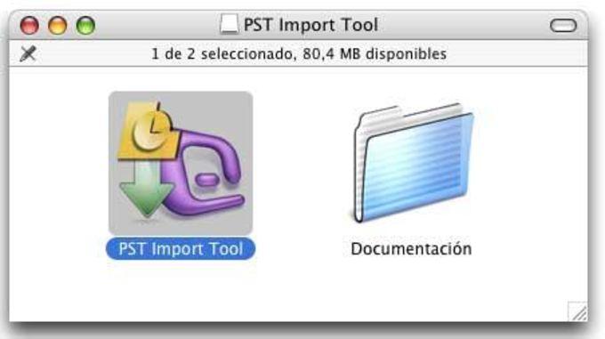 PST Import Tool for Entourage 2004