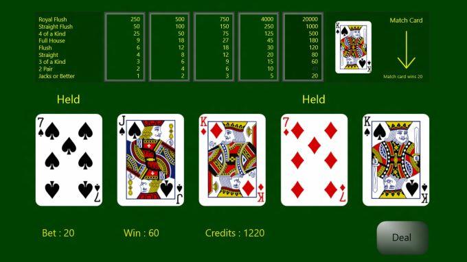 Draw Poker Free
