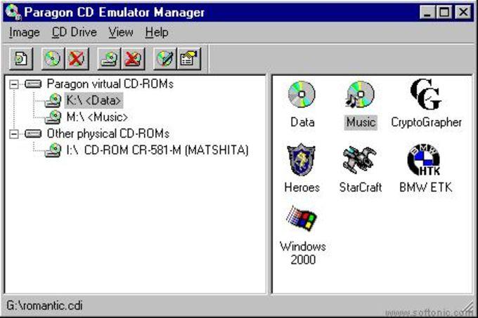 Paragon CD-ROM Emulator