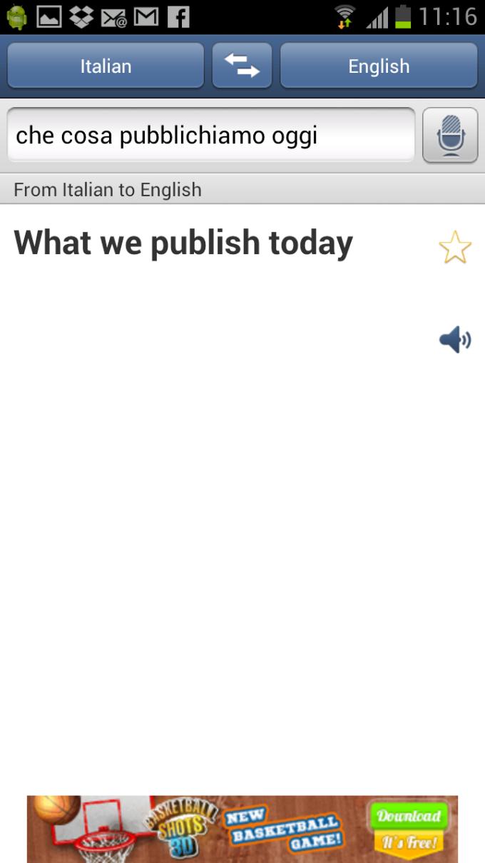 iTranslate - free translator