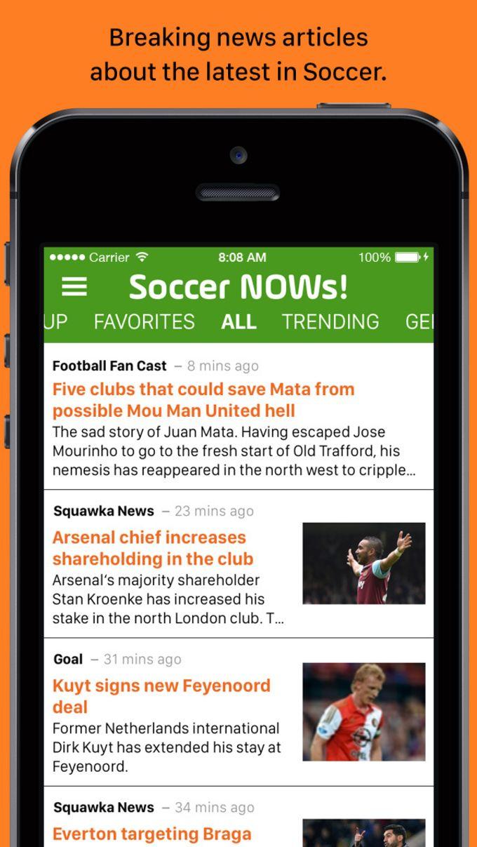 Soccer NOWs!