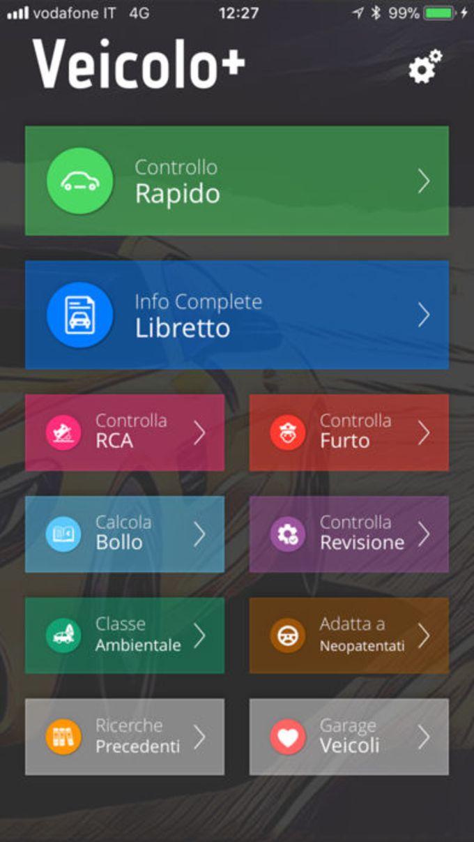Veicolo+: info targa (no ads)