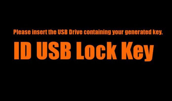 ID USB Lock Key