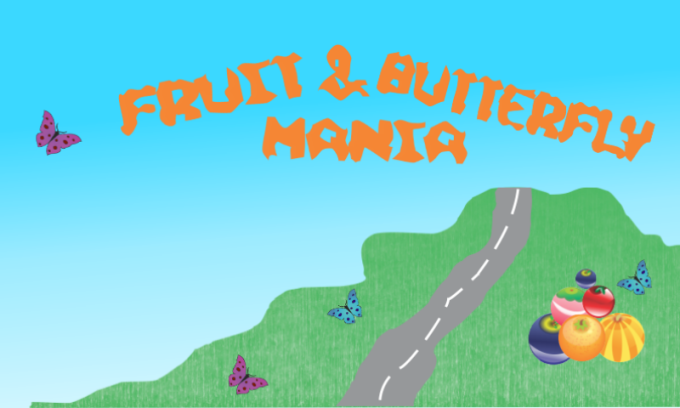 Fruit And Butterfly Mania