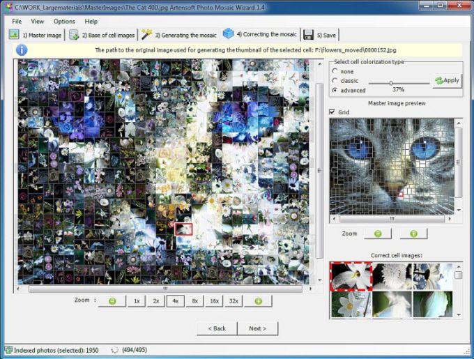 Artensoft Photo Mosaic Wizard