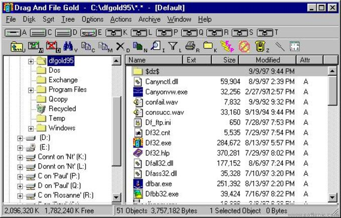 Drag and File Gold