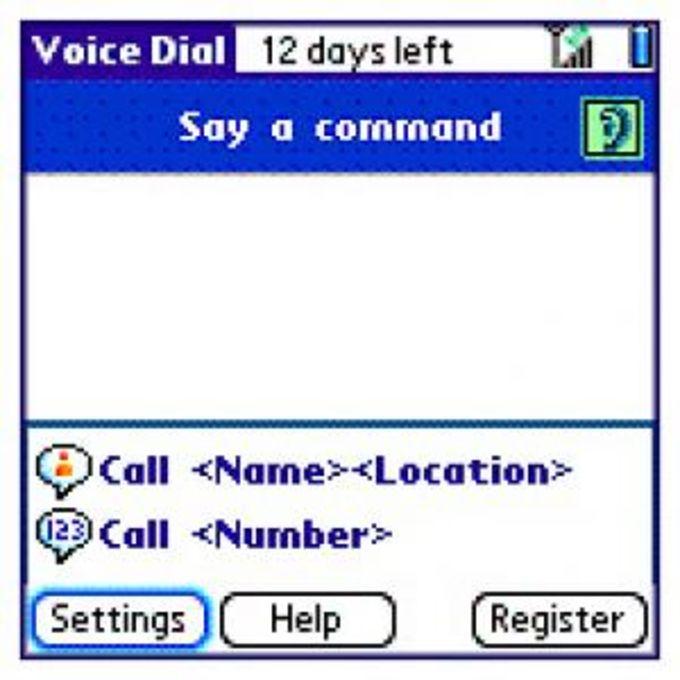 Treo 650 Voice Dialling