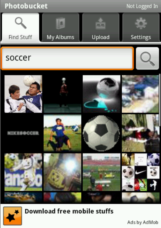 APK Version History Photobucket Mobile .APK For Android