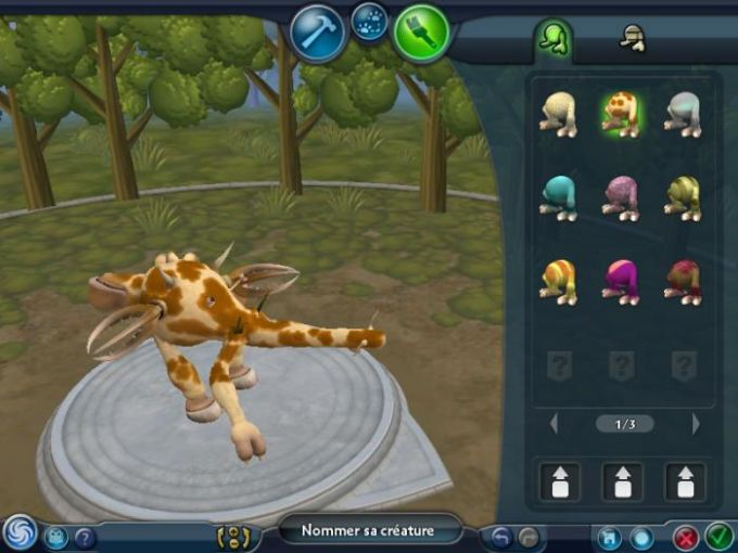 Spore - L'atelier des créatures