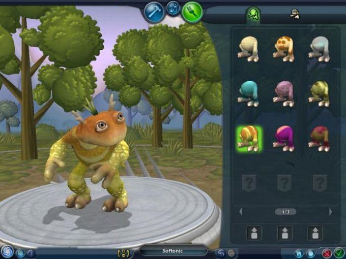 spore creature editor download