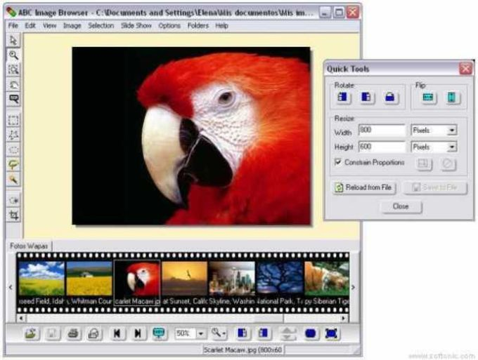 ABC Image Browser