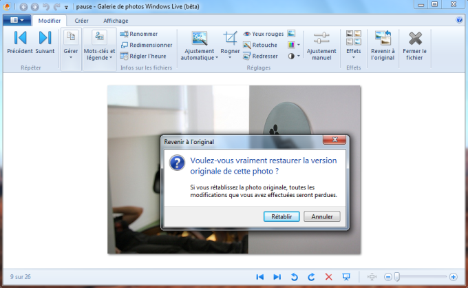Windows Live Photo Gallery 15.4.3555.308 (gratuit ...