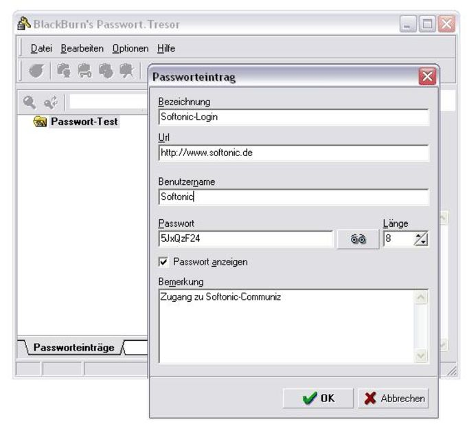 Passwort.Tresor