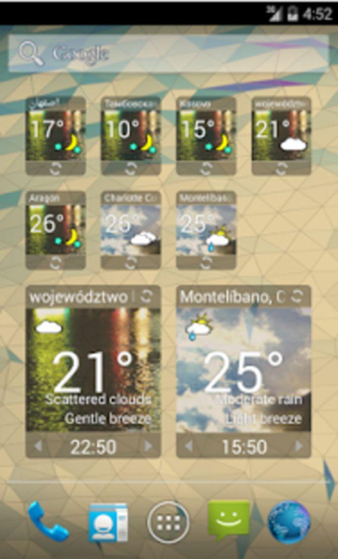 IC Weather Widget - Classic