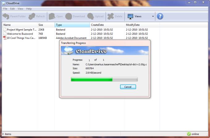 CloudDrive