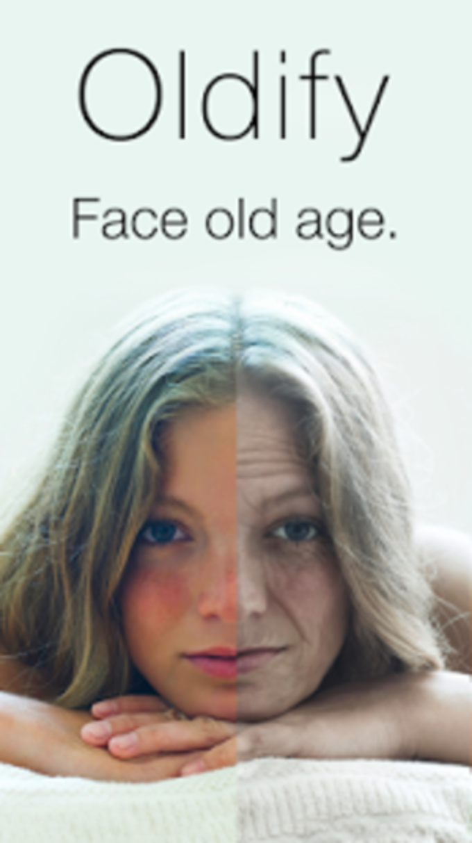 App that shows how you will age