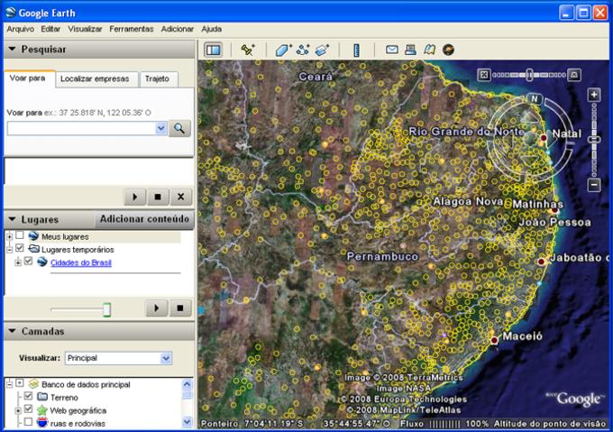 Cidades Brasil IBGE
