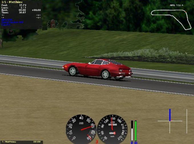 TORCS The Open Racing Car Simulator