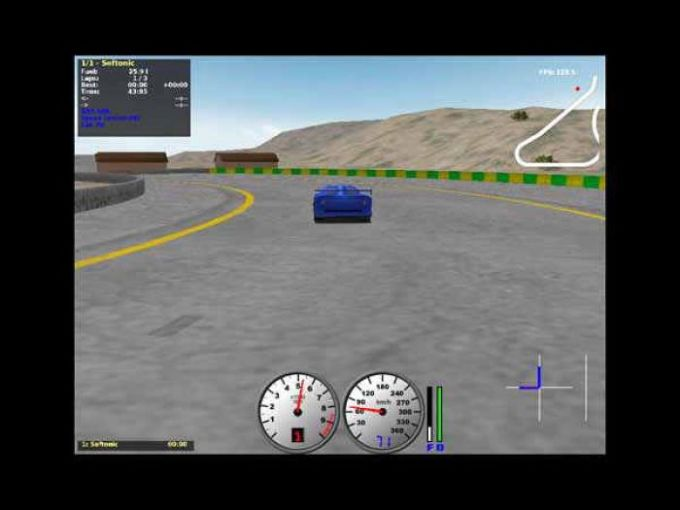 TORCS The Open Racing Car Simulator