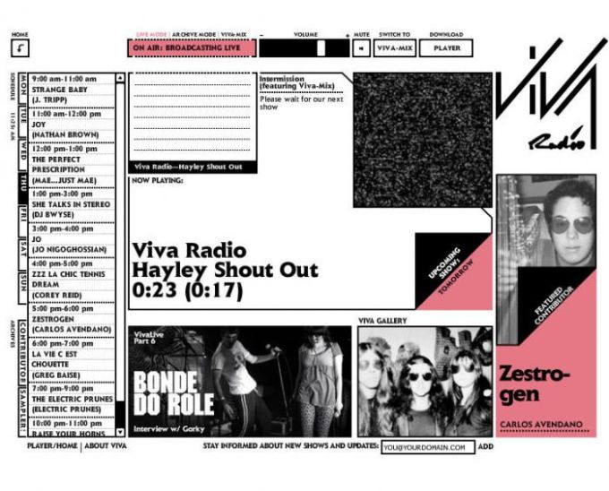 Viva Radio Standalone Player