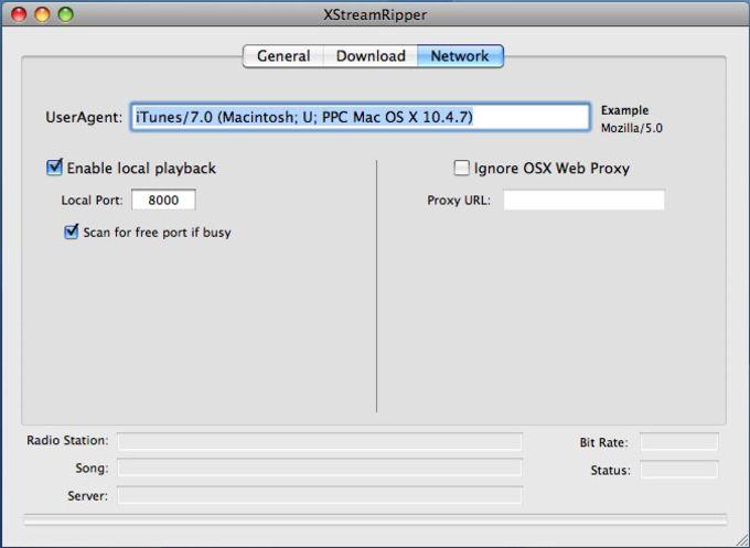 Xstreamripper for Mac OS X