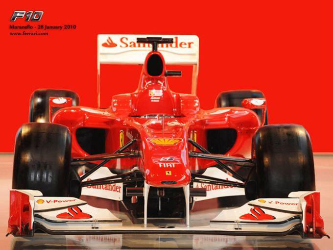 Ferrari F10 2010 Wallpaper