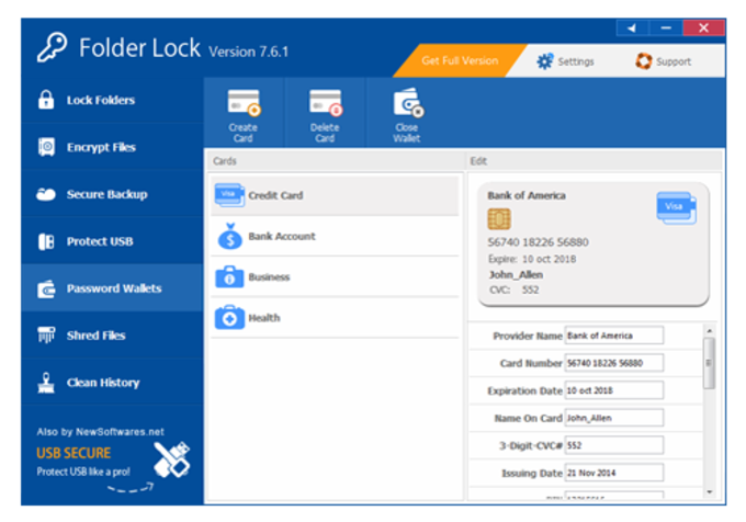 folder protection software free download full version
