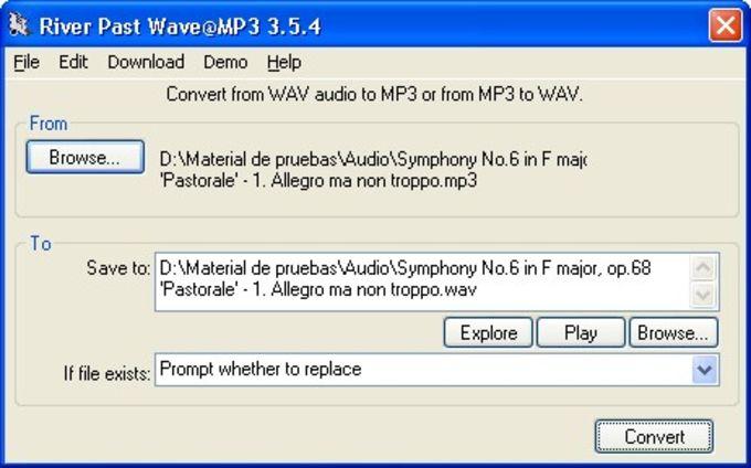 River Past Wave@MP3