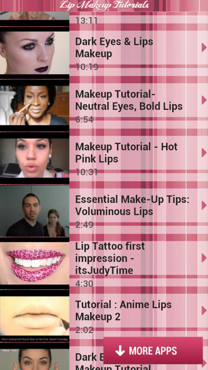 Lip Makeup Tutorials